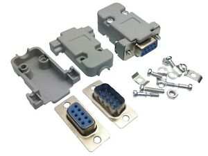 DB9-DIY-9-pin-Serial-D-Sub-Connector-With-Shell-Enclosure-Male-amp-Female-Plug