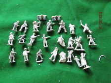 VENDEL - WARGAMES FOUNDRY ? 28 mm LOT OF APROX 25 FIGURES  UNUSED #2