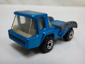 Vintage-1976-Lesney-Matchbox-Superfast-N-37-Skip-Truck-Azul-Camion-de-juguete-Diecast