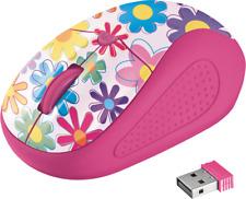 Artikelbild Trust Primo Wireless Mouse flowers Rosa NEU OVP