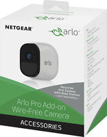 Arlo - Pro Add-on Indoor/outdoor Hd Wire Free Security Camera - White