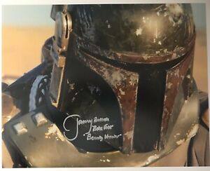 Star-Wars-JEREMY-BULLOCH-Signed-Autograph-11-X-14-BOBA-FETT-EXACT-PROOF