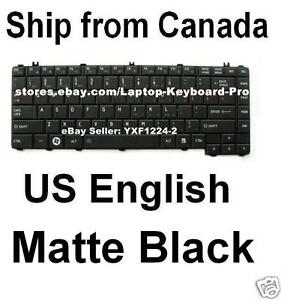 Toshiba-Satellite-Pro-C605-C640-C645-C645D-Keyboard-Black-US