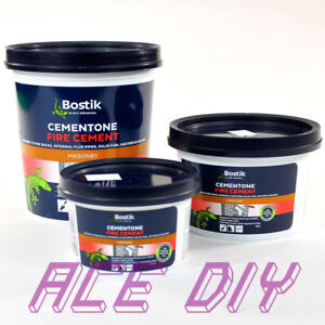 Fire Cement Bostik Heat Resistant Masonry Boiler Flue Filler Brick