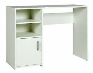 Argos Home Lawson 1 Shelf & Storage Cupboard Wooden Office Desk - White