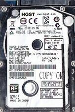 "GETAC B300 REPLACEMENT HDD, HGST 0J11285 HTS545050A7E380 Z5K500-500 2.5"" 500GB"