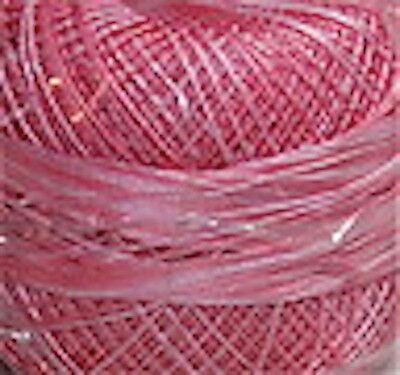 Lizbeth Cordonnet 100% Egyptian Cotton Thread - Size 10 Color 145 Pink Parade