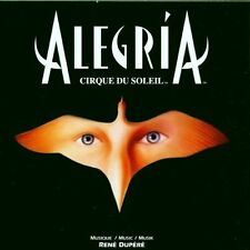 Cirque du Soleil Alegria (12 tracks, 1994, by René Dupéré) [CD]