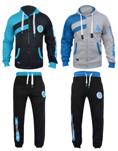 HNL-Projection-MENS-FLEECE-TRACKSUIT-HOODIE-BOTTOM-JOGGING-SUITS-S-M-L-XL