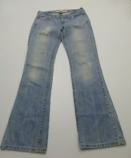 Abercrombie & Fitch Womens Size 2R Lt Boot Blue Jeans Good Condition