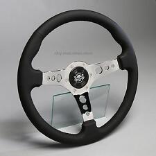 Lederlenkrad Sportlenkrad Lenkrad Leder 360mm Nabe Mercedes Vito Sprinter VW LT