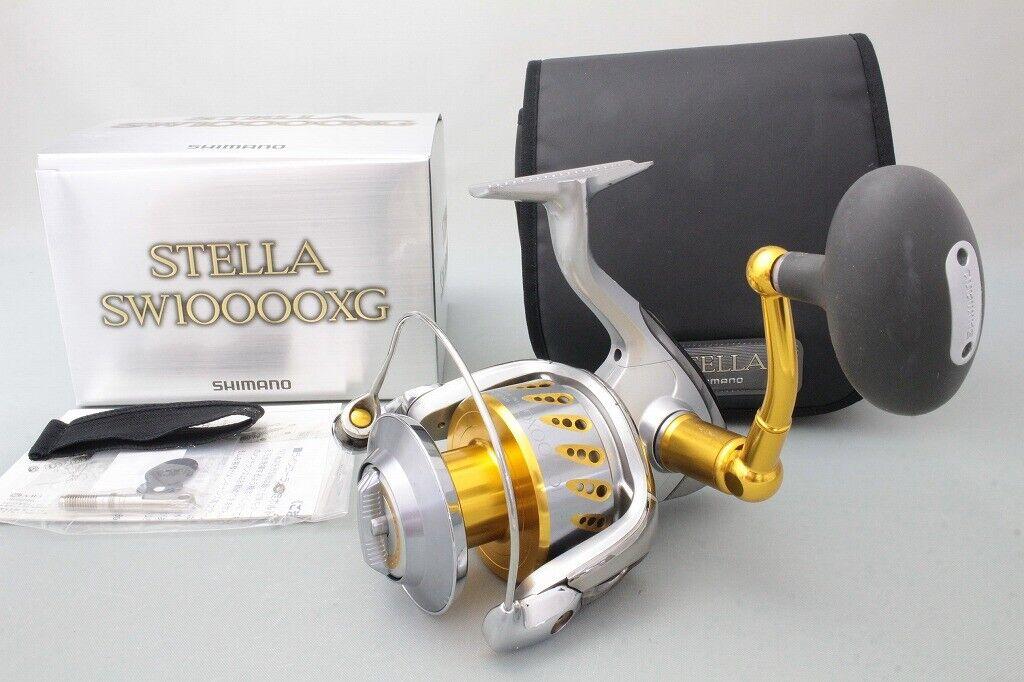 Shiuomoo 08 Stella Sw 10000XG Mulinello da Spinning