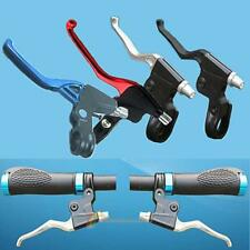 H3E# Lightweight ALLOY Brake Levers 2-finger Bike Bicycle BMX 4 Colours