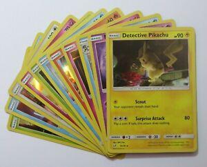 DETECTIVE-PIKACHU-Single-HOLO-Pokemon-Cards-Select-your-card