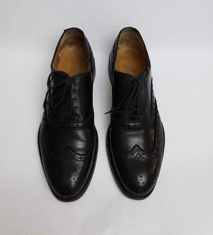 Mur + Eau Chaussures Noir Derbies Italie Homme Taille 9.5