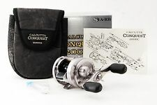 SHIMANO CALCUTTA CONQUEST 200DC RH Reel [Exc+++,Overhauled] F/S From Japan #68