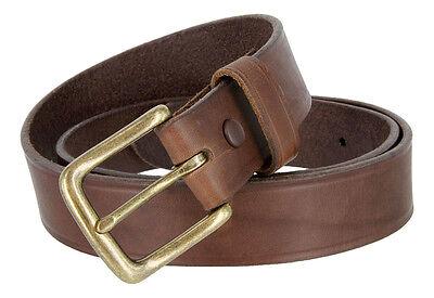 """1-3//4/"""" Wide Kalan Genuine Full Grain Leather Western Casual Jean Belt"""