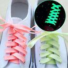 1pair Random Color Luminous Light Glow In The Dark Shoelaces Sneaker Shoe laces
