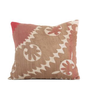 """15"""" x 17"""" Pillow Cover Suzani Pillow Cover Vintage FAST Shipment With UPS 09947"""