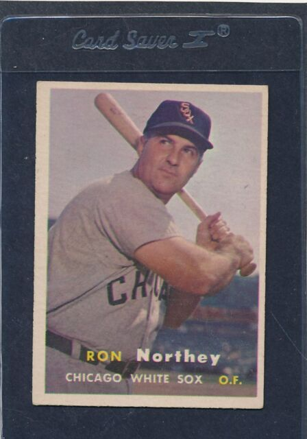 1957 Topps #031 Ron Northey White Sox VG/EX 57T31-30616-1