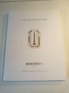 BOUCHERON - LIVRE DE COLLECTIONS - LIBRO BOOK CATALOGO BROCHURE
