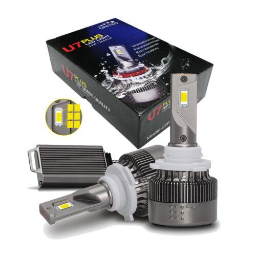 U7Plus LED Headlight 9005 HB3 Upgraded Flip Chip LED 7200LM Focus Beam Pattern