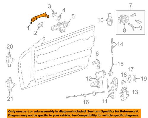 Mercedes MERCEDES-BENZ OEM-Outside Exterior Door Handle Right 20476014709999
