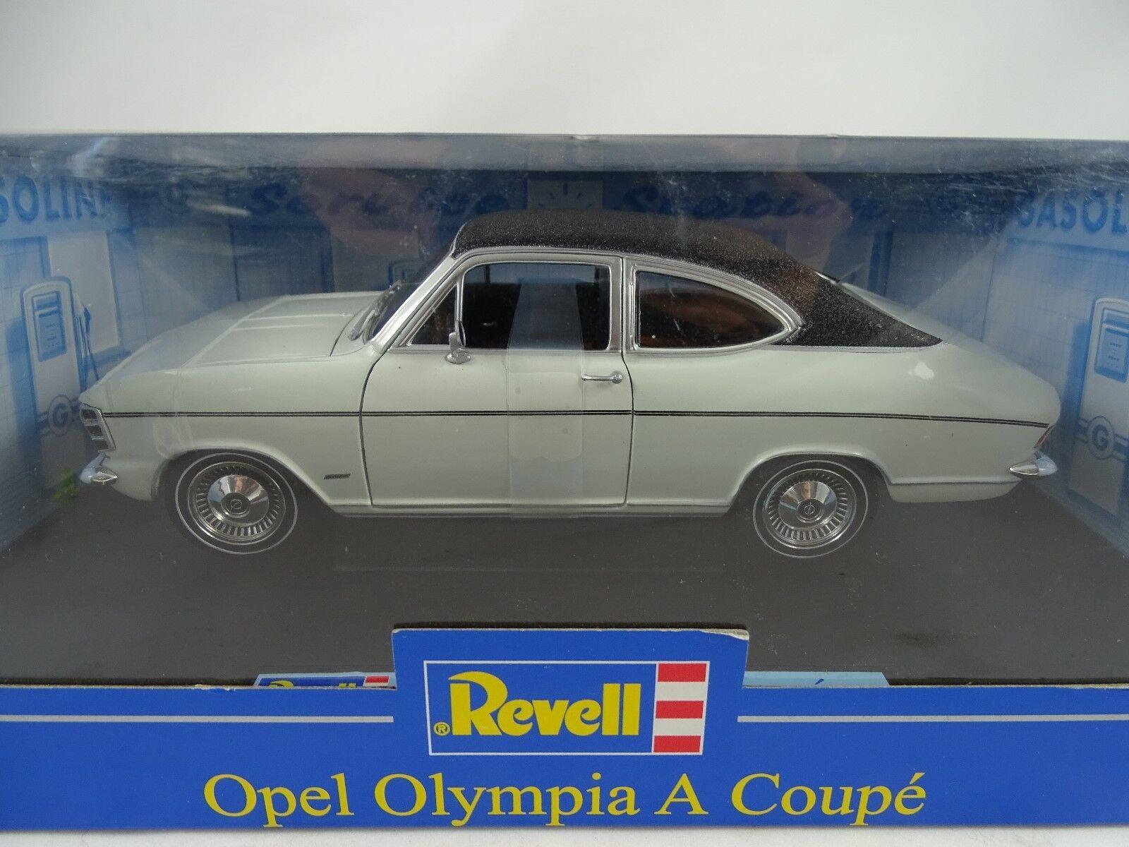 1 18 Revell  08446 Opel Olympia a Coupè Bianco Nero - Rarità Nuovo   Conf. Orig.