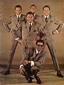THE TEMPTATIONS 1967 CONCERT PROGRAM TOUR BOOK BOOKLET-KENDRICKS AND RUFFIN-