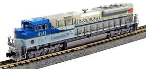 Kato-N-Scale-SD70ACe-Locomotive-George-Bush-UP-4141-DCC-Equipped-1768411DCC