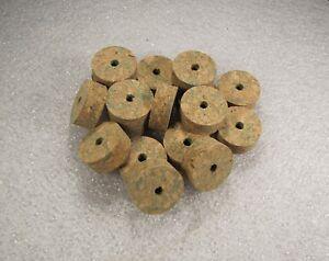 """Cork Ring, Vert Burl, 1/2"""" X 1.25 X 1/4 (4) Pcs-afficher Le Titre D'origine"""
