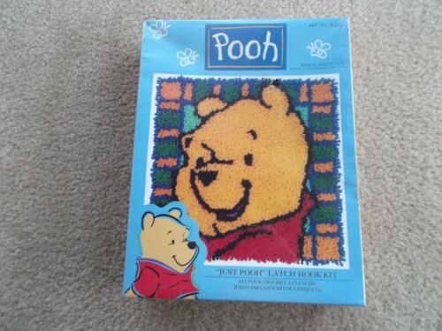 """Just Pooh"" Latch Hook Kit Art No. WP00 by Latch Hook Brand New & Sealed In Box"