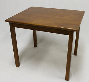 Kids Solid Hard Wood Table in Dark Oak ( without chair)