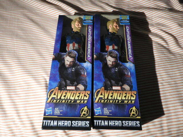 Hasbro Marvel Captain America Titan Hero Series Steve Rogers 11.5 in