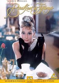 Breakfast At Tiffany's:Audrey Hepburn,George Peppard, Patricia Neal (DVD, 2000)