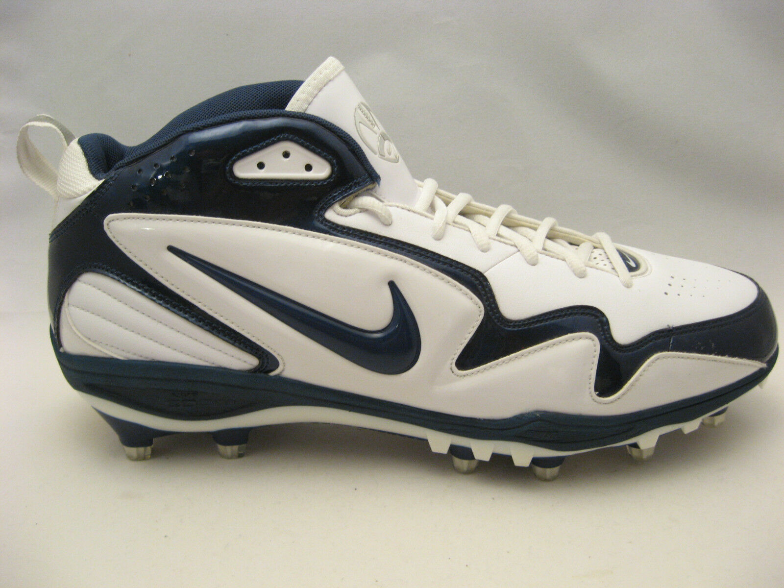 Nike Mens Zoom Merciless TD Football Cleats 15 White Navy Blue NEW Comfortable and good-looking