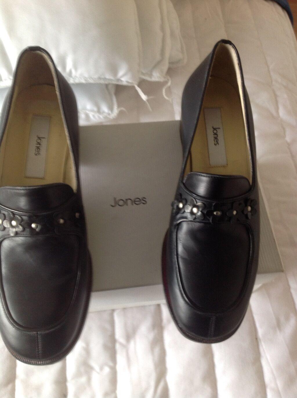 Jones Scarpa in pelle nera Taglia 37.5