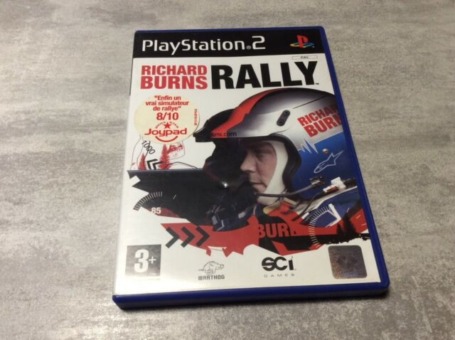PS2 Richard Burns Rally PLAYSTATION 2 SONY PAL FR COMPLET