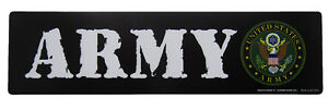 "U.S. Army Crest USA American 7.75x3"" Inch Magnet (Car / Fridge / Other)"