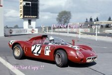 Bussinello & Zeccoli & Galli Alfa Romeo T33 Nurburgring 1000 Km 1967 Photograph