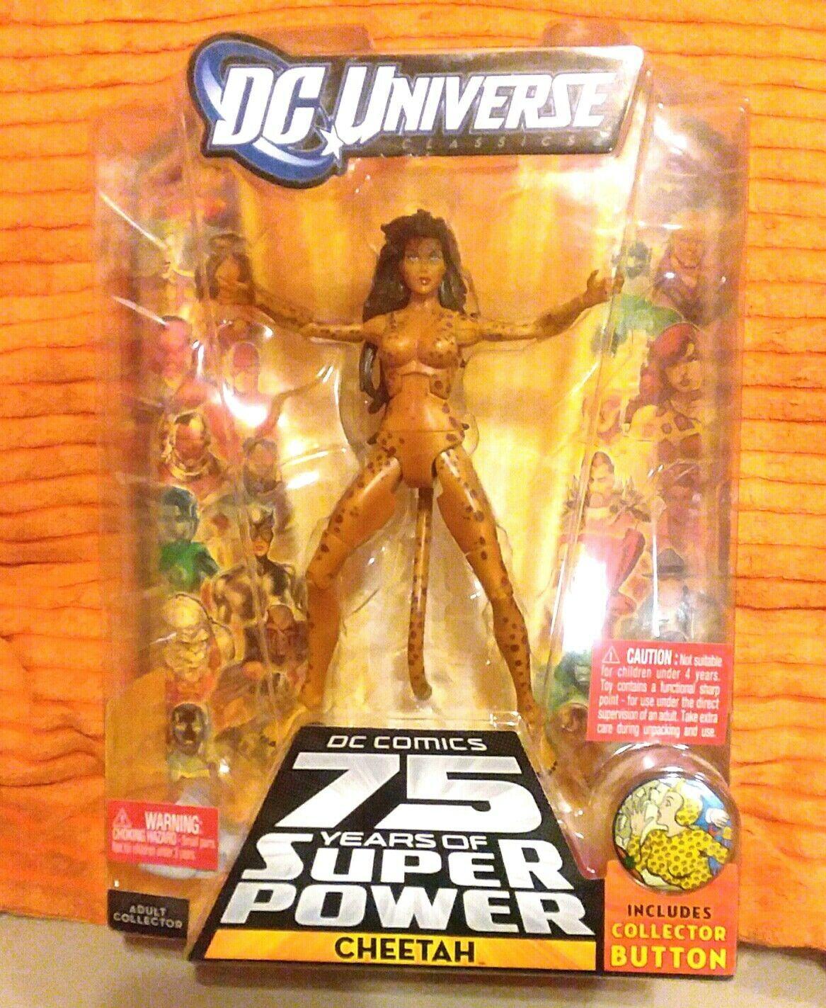 Cheetah NUDO ricordato Variante cifra DC Universe classeics WAVE 13 NUOVO inpackage