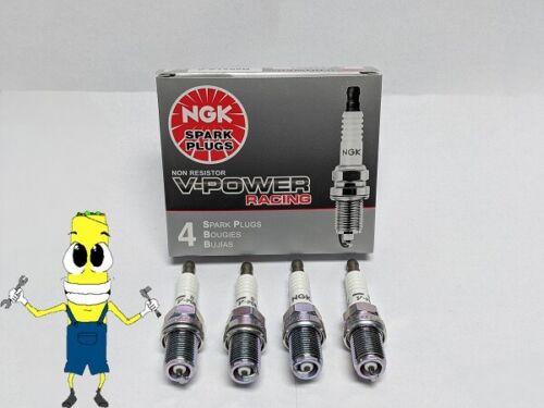 NGK 7317 Set of 4 R5724-8 Racing Spark Plug