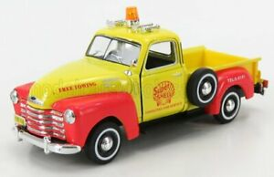HONGWELL 1/43 CHEVROLET | 3100 PICK-UP SHELL 1953 | YELLOW RED