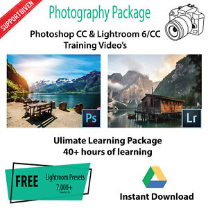 Adobe Photoshop Cc Lightroom 6 Cc Video Tutorials Instant