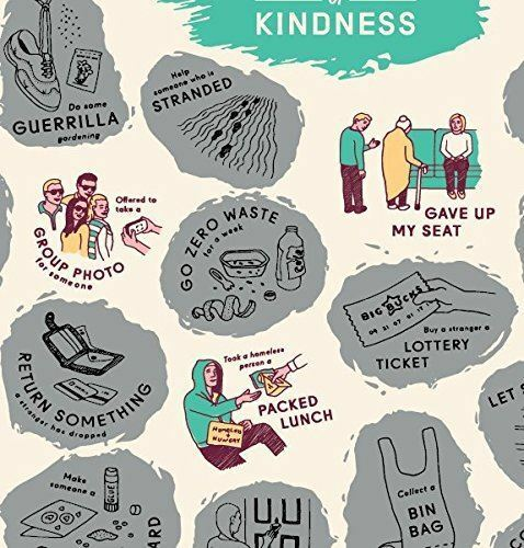 Skratkz 51 Random Acts of Kindness Scratch off Interactive Poster