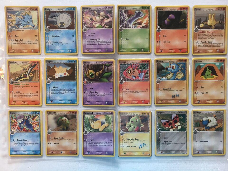 Samlekort, Pokémon Kort - Ex Dragon Frontiers