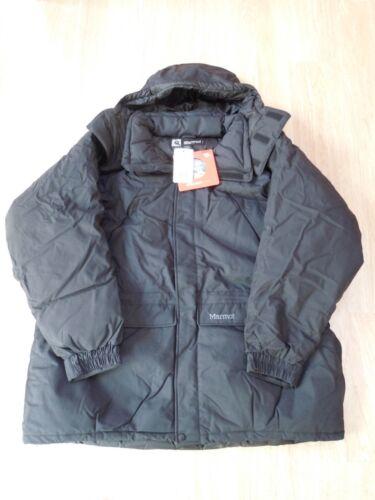 Nouveau Marmot Yukon Parka #9738 Noir 3XL Membrain Shell Down Jacket