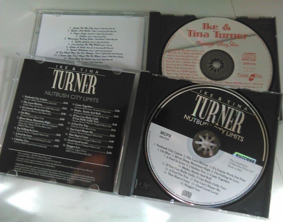 Ike & Tina Turner: 2 Cd'er: Stk. Pris 22 kr. - eller begge 35