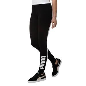f487139f87145c NWT $40 Women PUMA Classics Archive Logo T7 Leggings (Size: S) Black ...