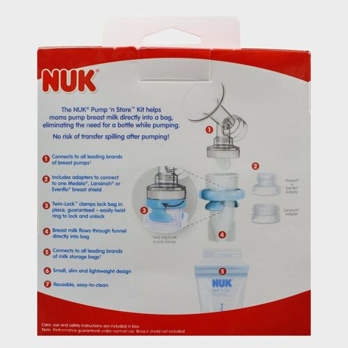 NUK Pump N Store Breast Milk Storage Kit